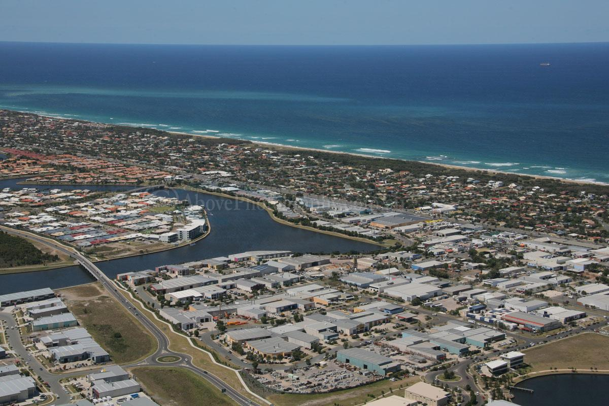 Aerial Photo of Warana #017755, Warana, Sunshine Coast