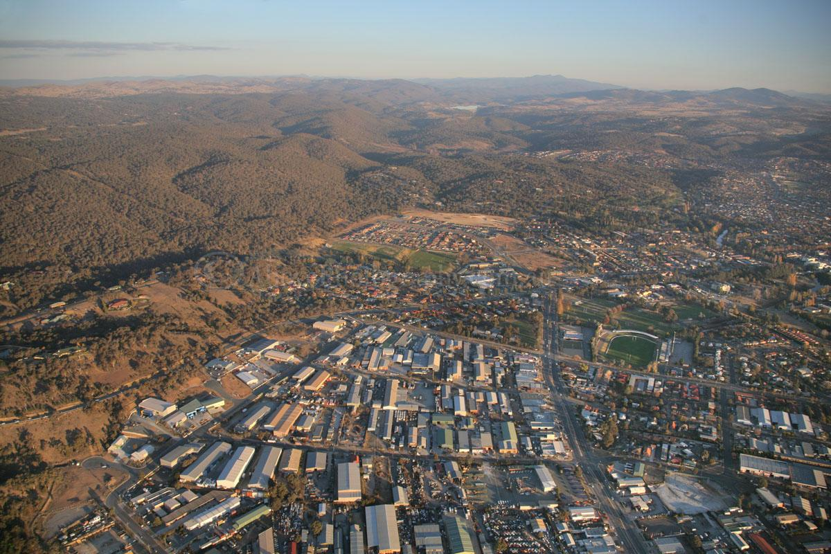 Aerial Photo Of Queanbeyan  011239  Queanbeyan  Canberra