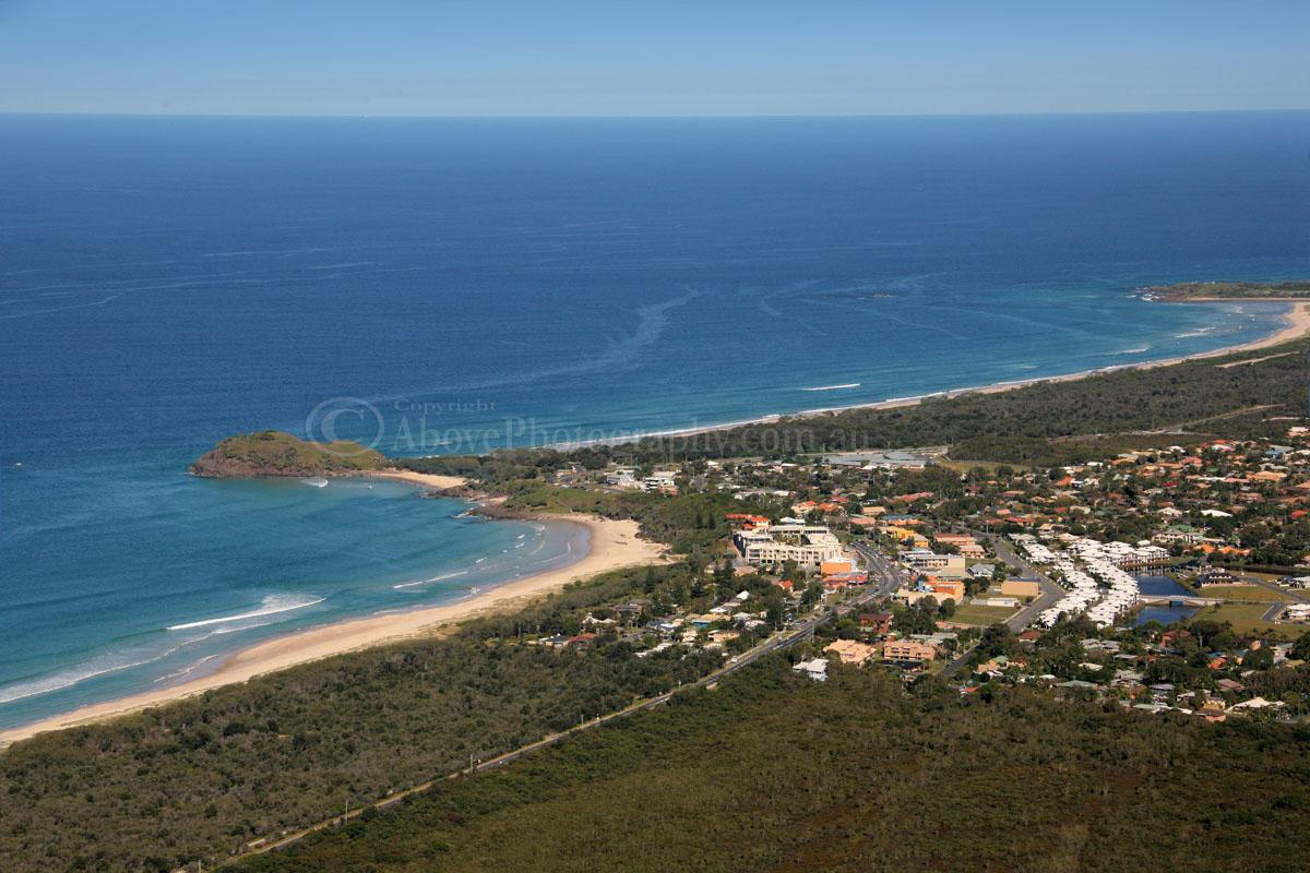 Aerial Photo of Cabarita Beach #010772, Cabarita Beach ...