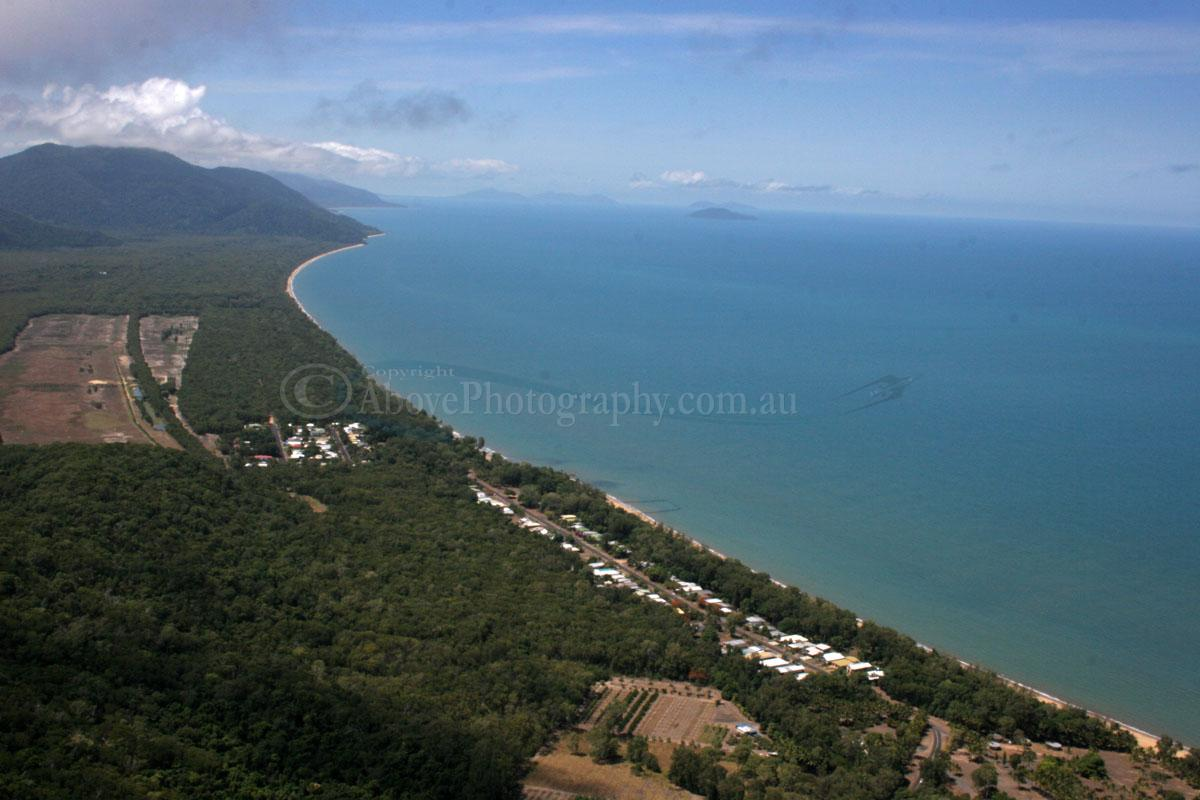Bramston Beach Australia  city pictures gallery : Aerial Photo of Bramston Beach #001781, Bramston Beach, Far North ...