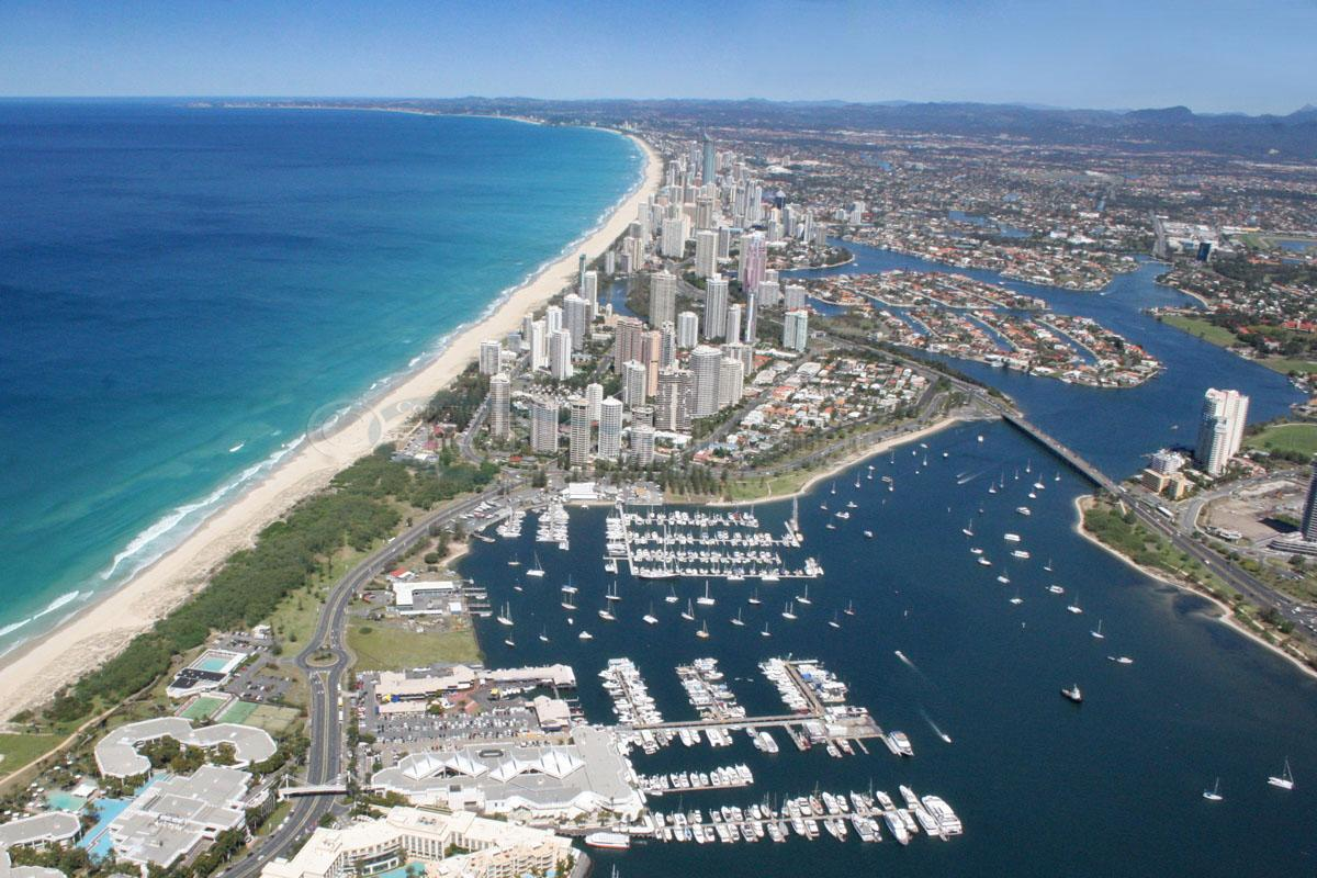 Aerial Photo of Southport #007298, Southport, Gold Coast ...