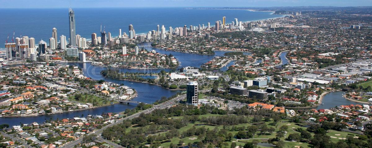 Aerial Photo Of Southport P009108 Southport Gold Coast Queensland Above Photography