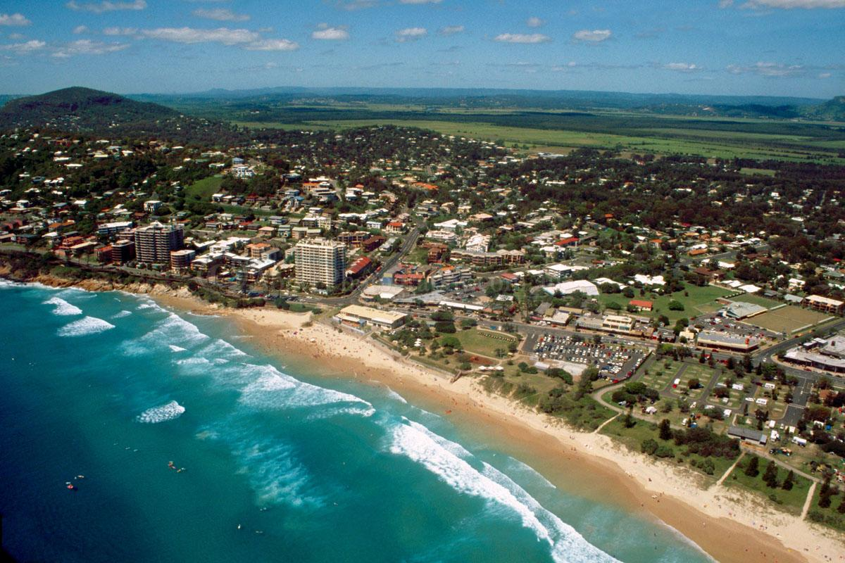 Aerial Photo Of Coolum Beach 000178 Coolum Beach Sunshine Coast Queensland Above Photography