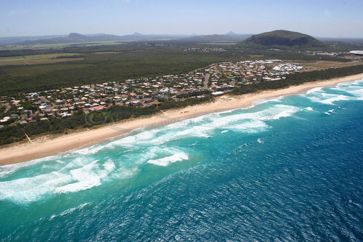 Aerial Photo Of Marcoola  000707  Marcoola  Sunshine Coast