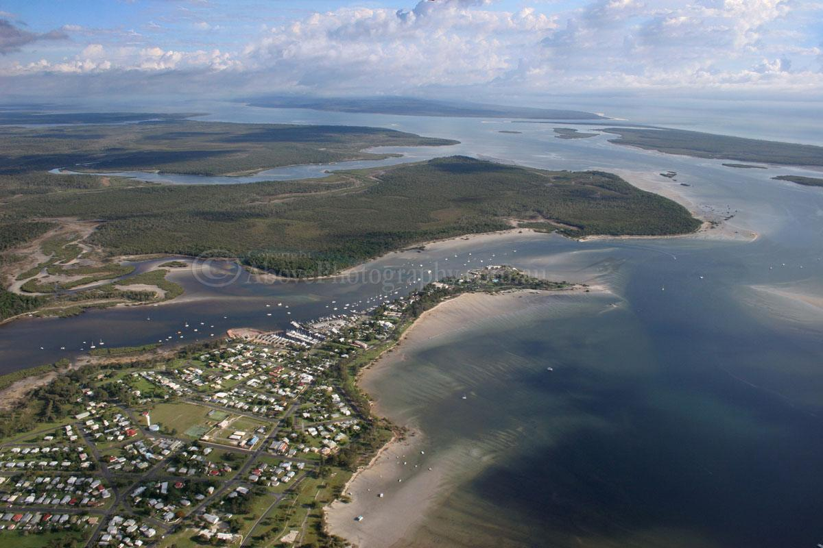 Tin Can Bay Australia  city pictures gallery : Aerial Photo of Tin Can Bay #999214, Tin Can Bay, Widebay Burnett ...