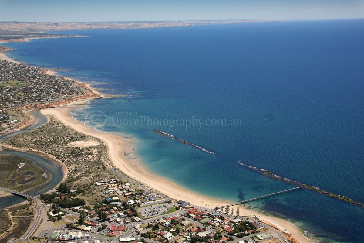 Port Noarlunga Australia  city images : Port Noarlunga #004821 Port Noarlunga Adelaide South Australia Aerial ...